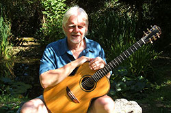 With my Brook Taw, 2006, taken for Brook Guitars website